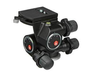 Manfrotto410 3-Way, Geared Pan-and-Tilt Head with Quick Release Plate
