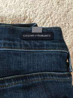 Medium wash Citizens of Humanity jeans size 25