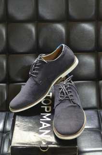 Topman Oxford Navy Shoes - Pre-Owned