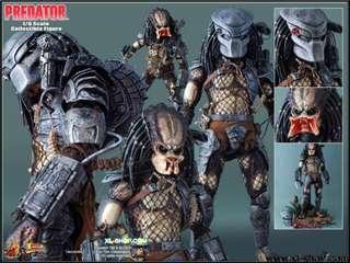 """全新品 Hot Toys MMS90 Predator VS Arnold Schwarzenegger AVP 元祖 鐵血戰士 14"""" Figure 玩具狂熱"""