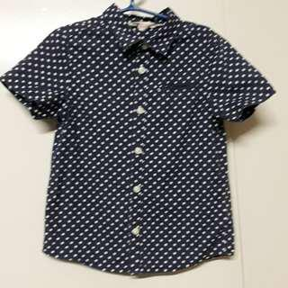 H & M dotted polo