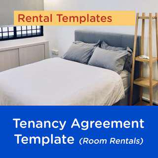 Tenancy Agreement Template for Room Rentals