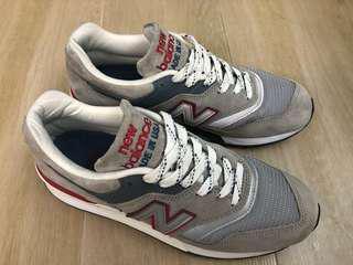 New balance m997 CGR grey 灰色 USA