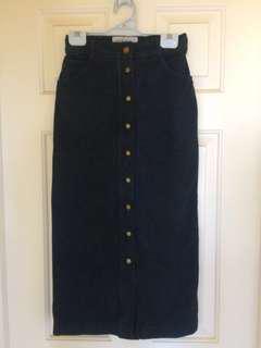 MAX & Co Denim Skirt