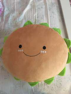 Hamburger Pillow