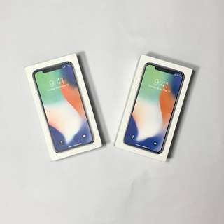 Brand new iPhone X Factory Unlocked
