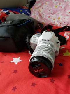 9成新canon D100單反相機(白色)連相機袋