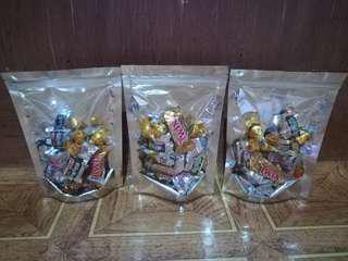 Assorted chocolates 15pcs.