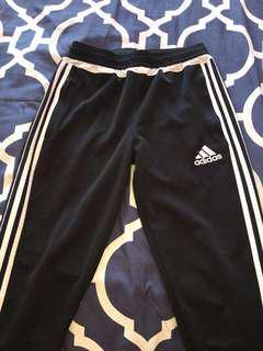 Adidas Black and White Jogging Pants