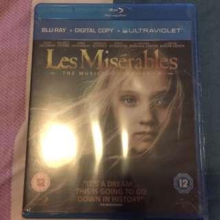 (減價)全新藍光 Les Miserables 孤星淚 悲慘世界 blu-ray BD