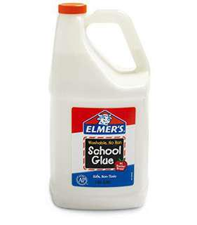 INSTOCK Elmer's White Glue School Glue Gallon