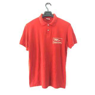 VINTAGE MILLER MUSIC POLO SHIRT 50/50 MADE IN USA