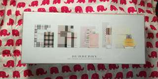 Burberry Parfum Travel Collection for Women 香水套裝一套5支