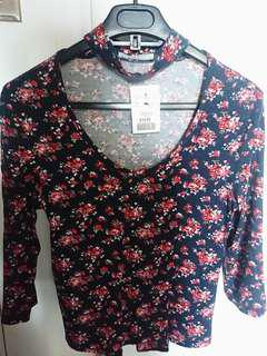 Brand new choker shirt size small.