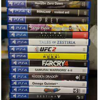 used ps4 game from 35 ringgit