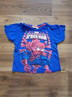 Marvel Spiderman Shirt for Toddlers (2T)