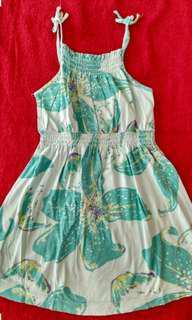 Flower dress playsuit