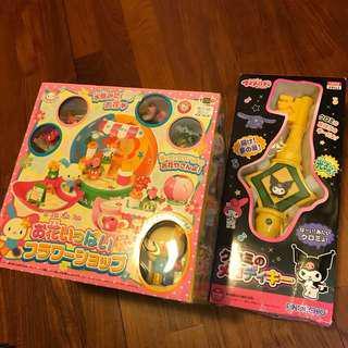 Sanrio Kuromi melody 玩具 絕版