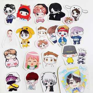 🚚 Kpop Stickers