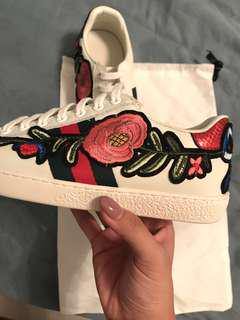 REPLICA GUCCI FLORAL ACE SNEAKERS