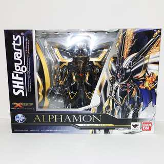 🚚 S.H. Figuarts Alphamon Digimon X Evolution Bandai Limited SH