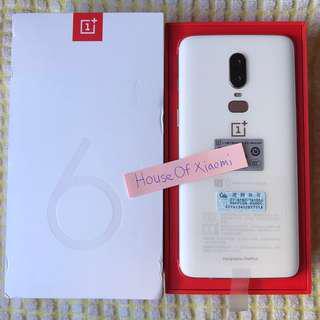 OnePlus 6 128GB White Offer!