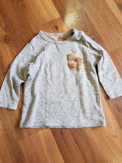 Uniqlo Long Sleeves Top for Infants