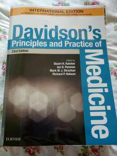 23rd ed Davidson's Principles and Practice of Medicine