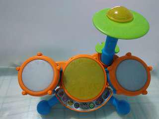 VTech Kidibeats Toy Drum for Kids Battery Operated Musical Toy
