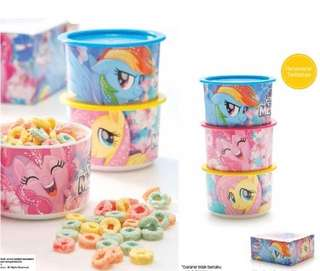 My Little Pony Canisters Tupperware Brands