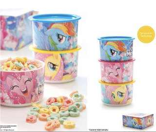 My Little Pony Canisters Tupperware