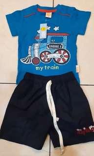 Kaos dan celana anak 1 thn