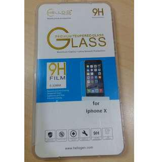 Tempered Glass for iPhone X Screen Protector