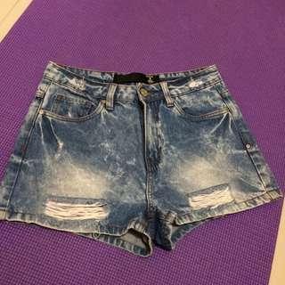 Factorie Highwaist shorts 26-28