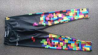 Black Milk Clothing Retro Leggings (size M)