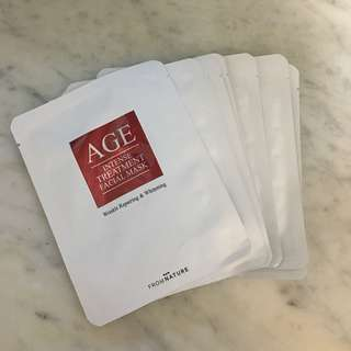 韓國FROM NATURE Age Intense Treatment Facial Mask十塊