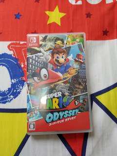 9成新Mario Odyssey Switch game$180