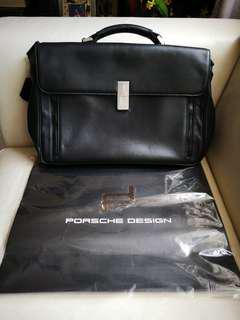 PORSCHE DESIGN P2000 BRIEFCASE/MESSENGER BAG - CLEARANCE !