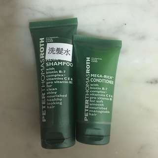 Peterthomasroth Mega-rich洗髮旅行套裝