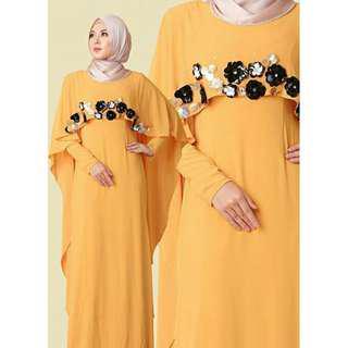 Dress Primerose Yellow Leeyana Rahman