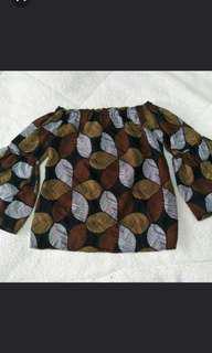 🚚 個性一字領上衣氣質風格#女裝88