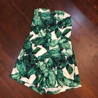 Leaf jumpsuit