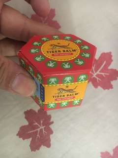 Tiger Balm, original from singapore. Expired date 2022 new, freongkir jabodetabek