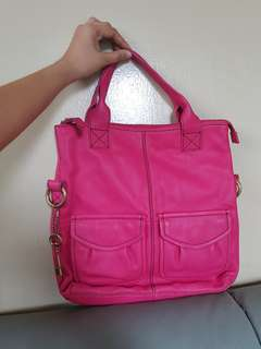 Authentic Fossil Pink Bag