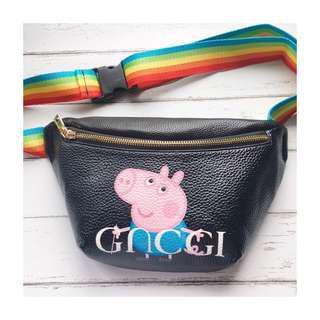 Peppa pig x GUCCI fanny pack