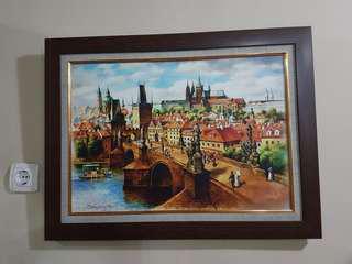2 × Praha lukisan