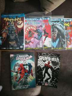 Batman & Spider-Man Comics