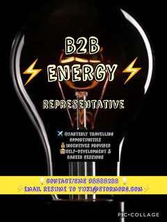 (No experience needed!!!) B2B Energy Representative