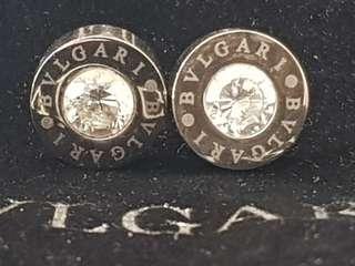 Bvlgari  earrings  new no backs