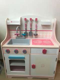玩具廚房~木製